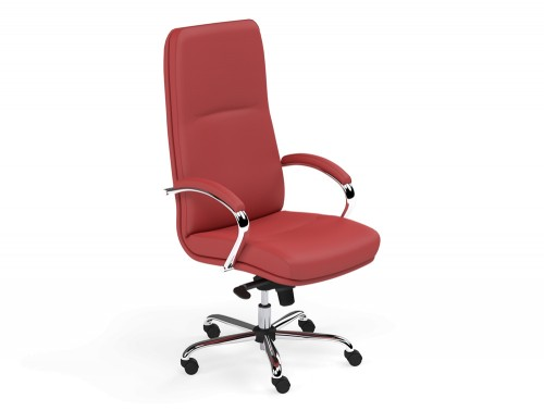 Idaho High Back Executive Chair in L090 Red
