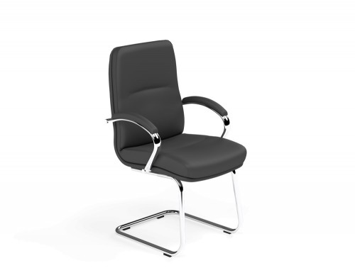 Idaho Low Back Conference Chair in L001 Black