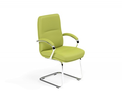 Idaho Low Back Conference Chair in L051 Green
