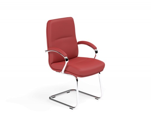 Idaho Low Back Conference Chair in L090 Red