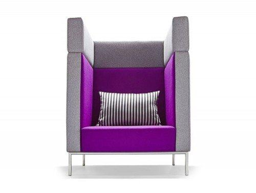 Identity Nestle Soft Seating Pods Single Seat High Back