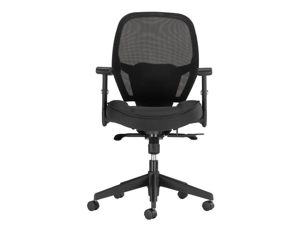Influx Amaze Chair Synchronous in Mesh Front Angle