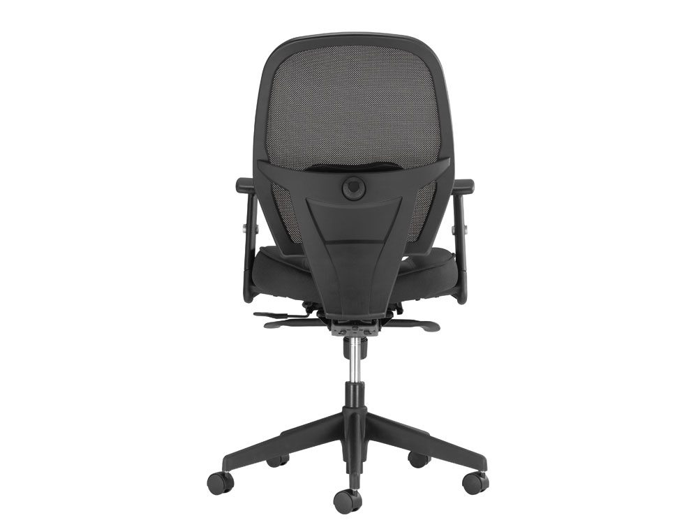 Influx Amaze Chair Synchronous in Mesh Back Angle