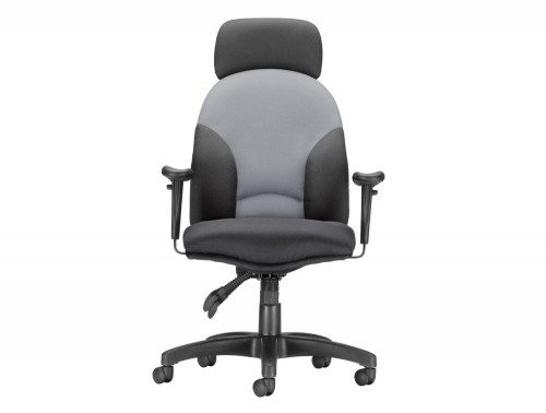 Influx Energize Aviator Armchair Seat with Headrest Front Angle