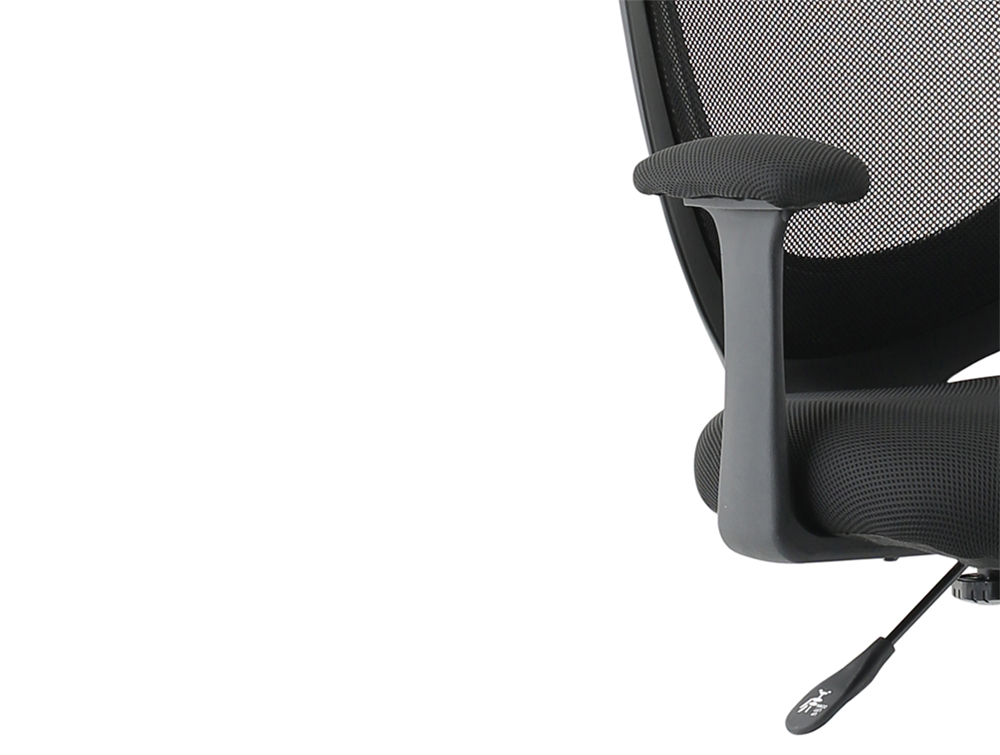 Influx-Gleam-SoHo-Operator-Armchair-in-Black-Mesh-Gas-Height-Adjustement