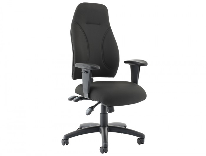Influx-Posture-High-Back-Armchair-Seat-Black