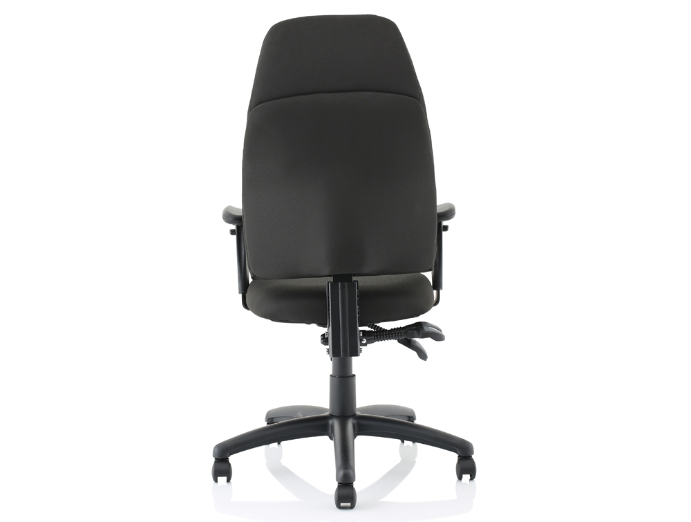 Influx-Posture-High-Back-Armchair-Seat-Black-Back