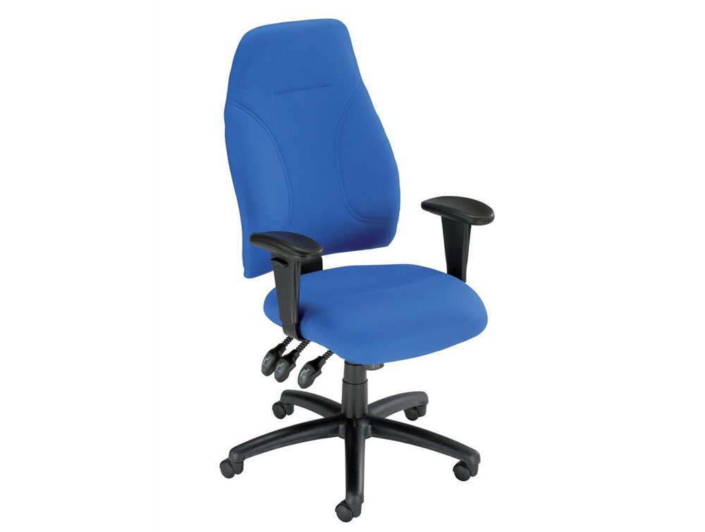 Influx posture high back asynchronous armchair seat for Armchair with high back