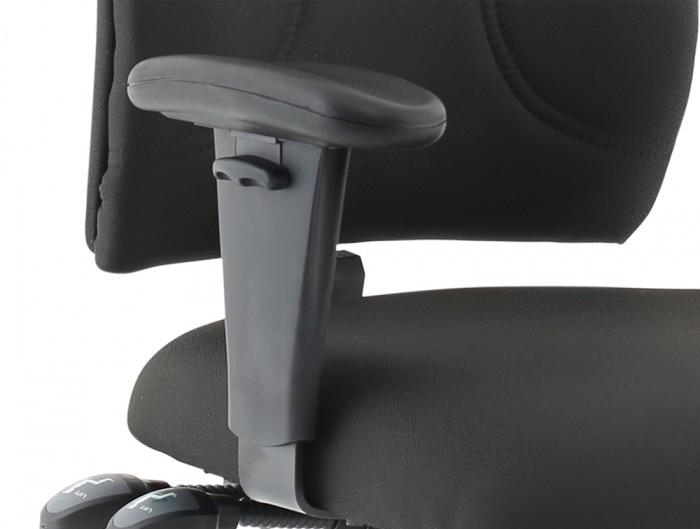 Influx-Posture-High-Back-Black-Adjustable-Armchair