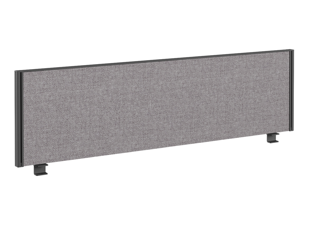 Join Desk Straight Fabric Screen - 1600 x 380mm