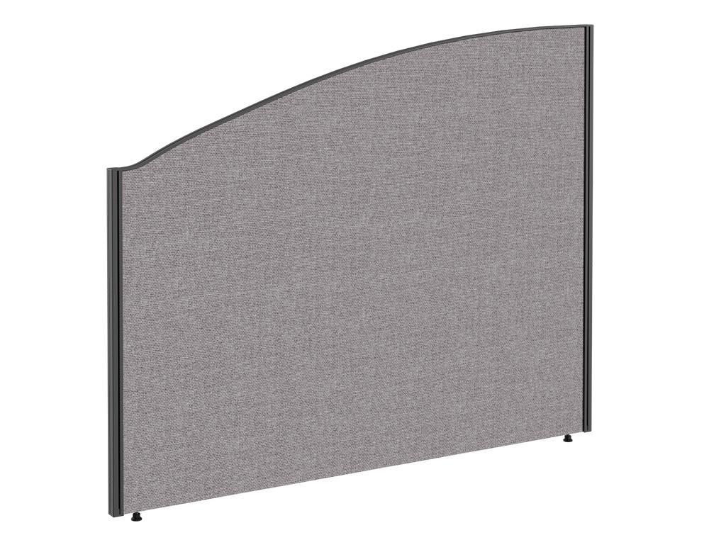 Join Freestanding Arc Fabric Screen - W800mm x H1000mm