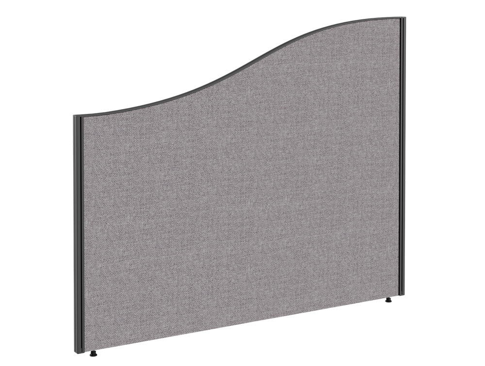 Join Freestanding Wave Fabric Screen - W1200mm x H1200mm