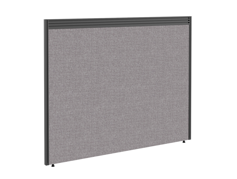 Join On Freestanding Straight Fabric Screen with Toolbar - 1000 x 1000mm