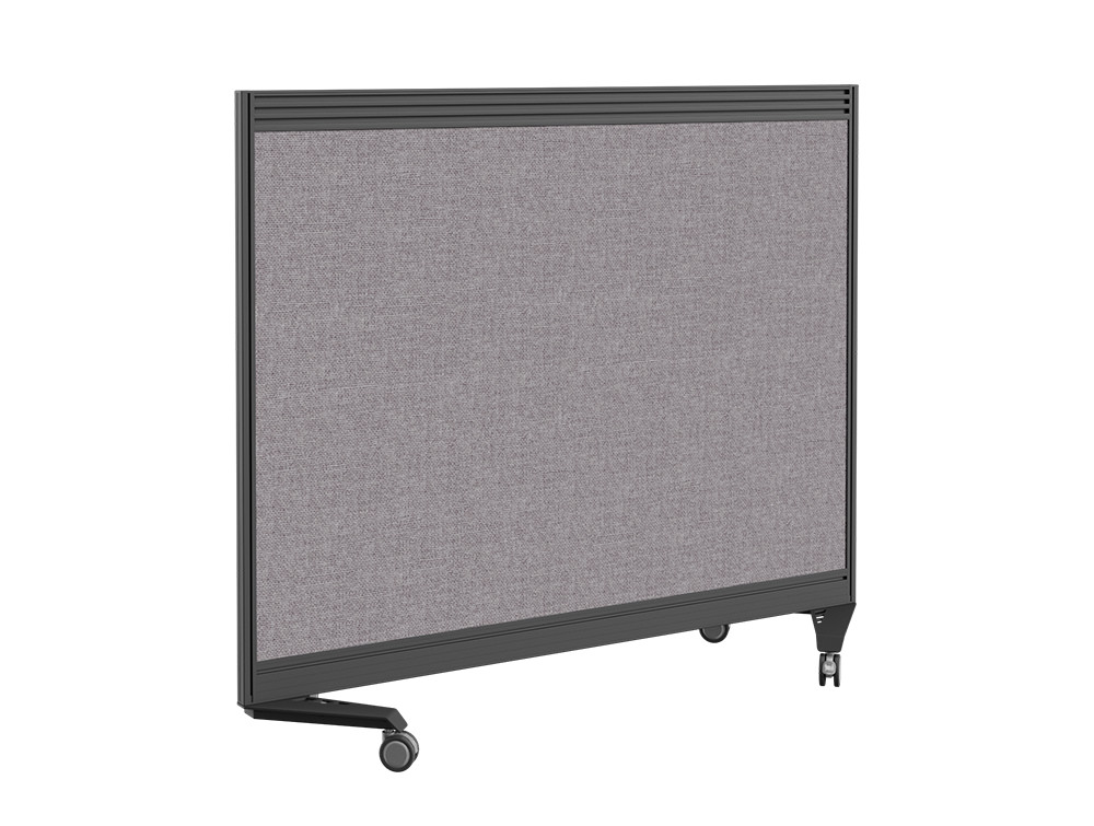 Join On Mobile Straight Fabric Screen with Toolbar - 1800 x 800mm