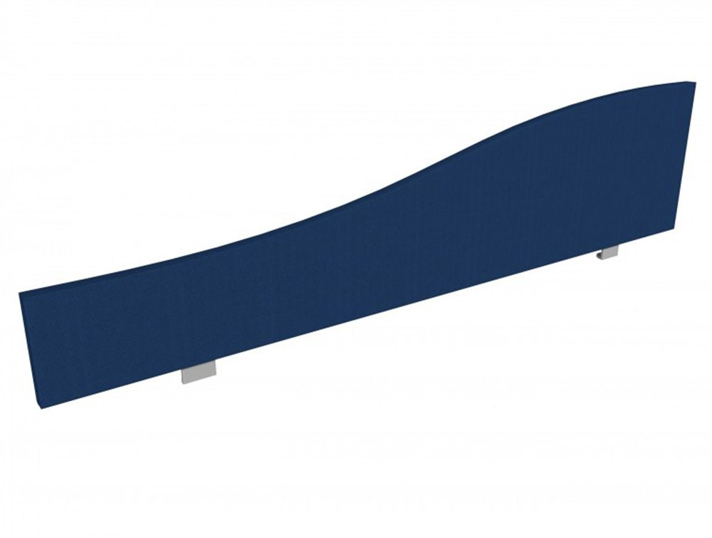 Jump Desk Screen Curve Top in Navy Blue