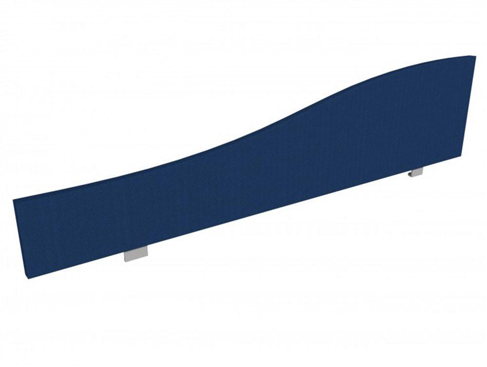 Jump Desk Screen Curve Top in Navy Blue
