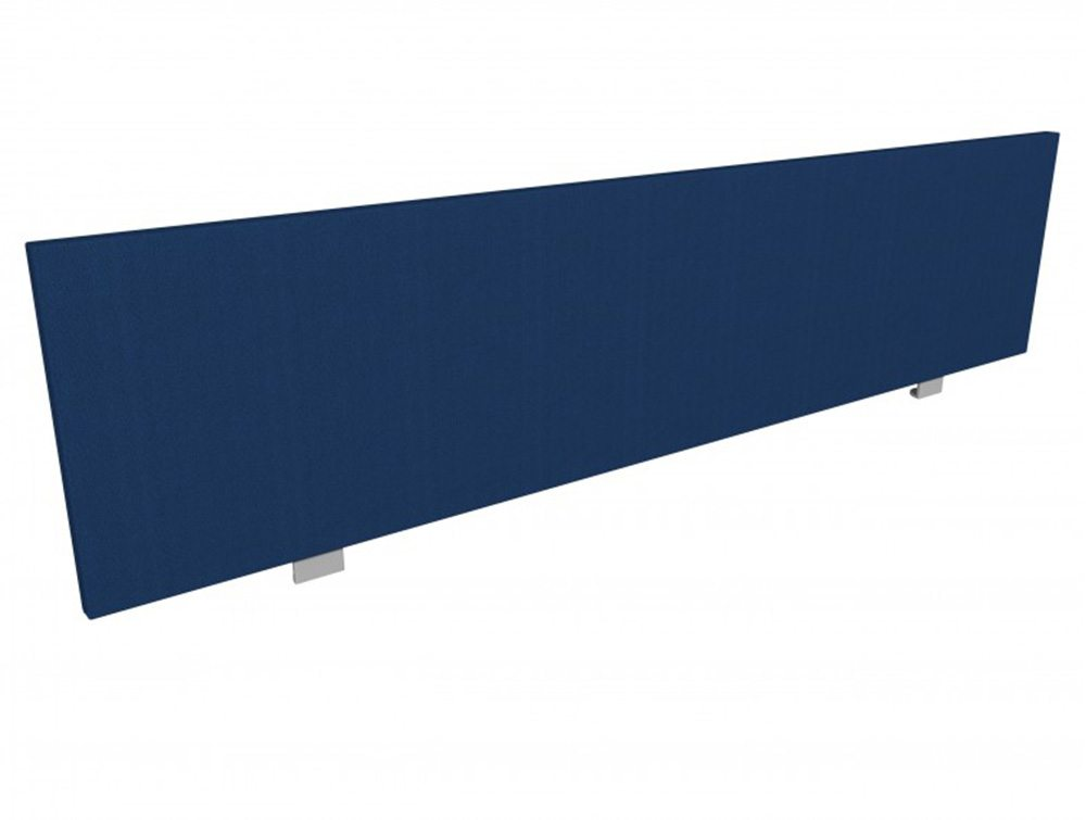 Jump Desk Screen Straight Top in Navy Blue