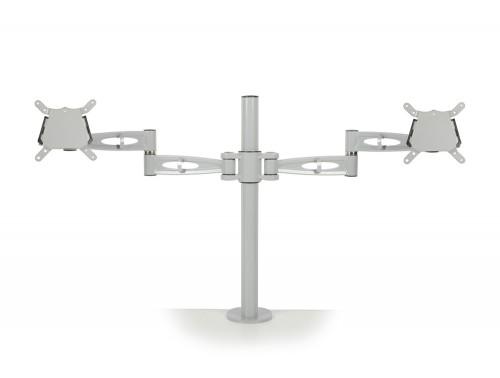 Kardo Dual Monitor Arm Silver PMA522-SV