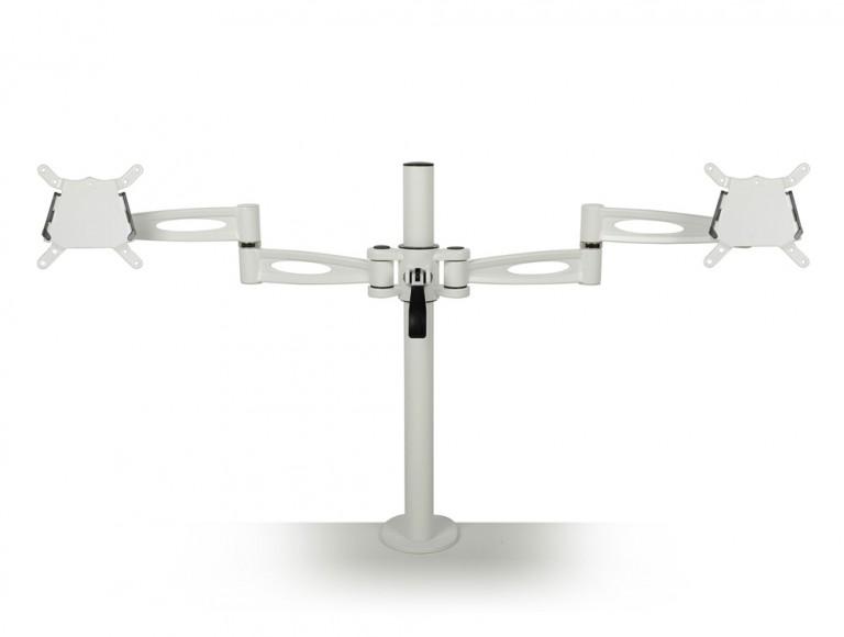 Kardo Dual Monitor Arm white PMA522-WH