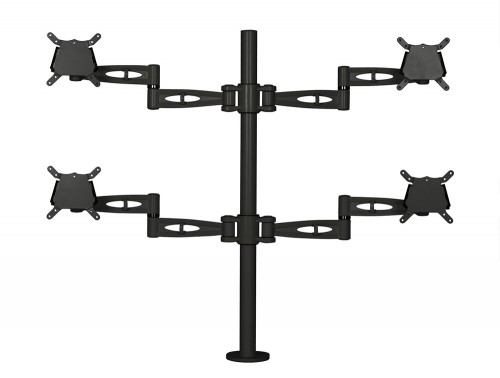 Kardo Quad Monitor Arm Black PMA524-BK