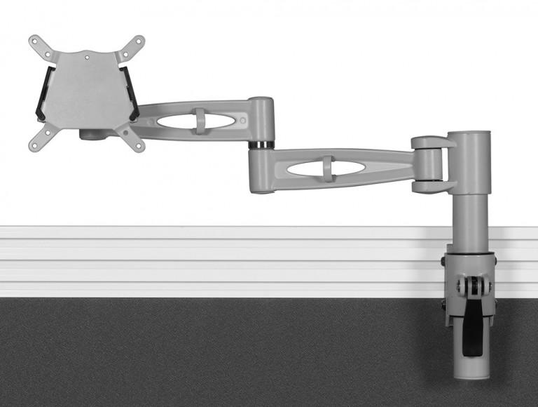 Kardo Tool Rail Monitor Arm Silver PMSA521-SV