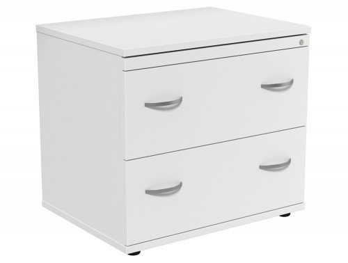 Kito 2 Drawer Side Filer WH in White