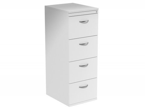 Kito 4 Drawer Filing Cabinet WH in White