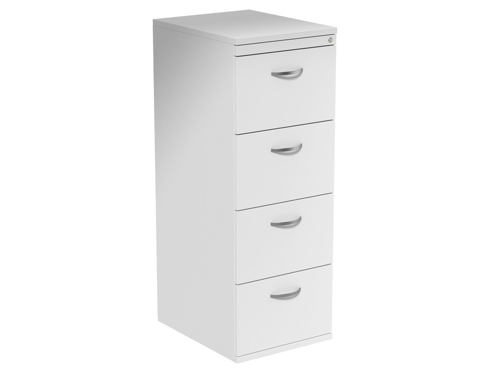 office drawer cabinet kito 4 drawer filing cabinet in white 23920