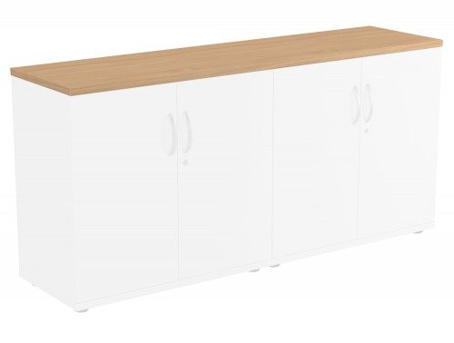 Kito Bookcase Top BE-1642 in Beech Double Top