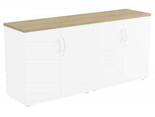 Kito Bookcase Top UO-1642 in Urban Oak Double Top