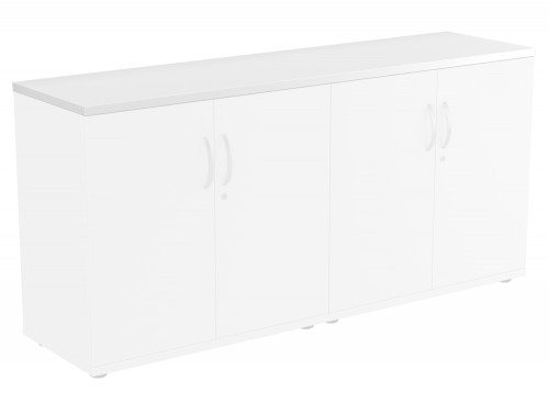 Kito Bookcase Top WH-1642 in White Double Top