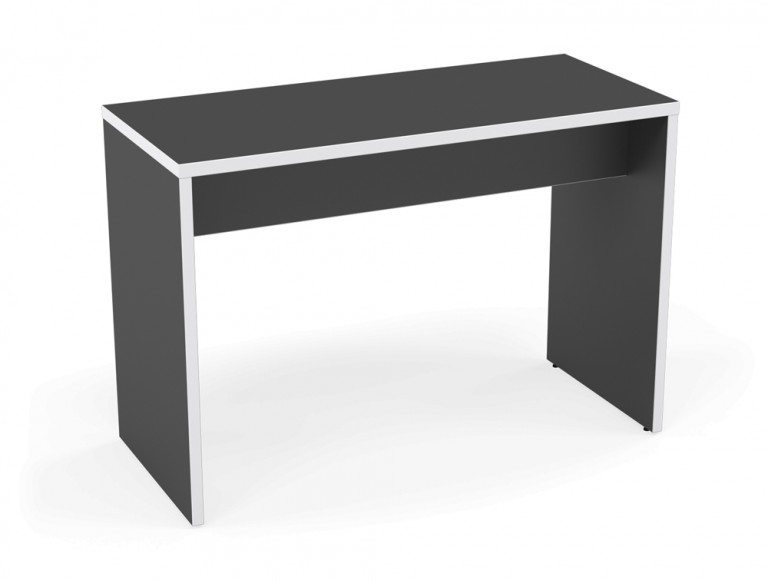 Kito Canteen Bench System High Table GR-WH-1670 Graphite/White in 1600 x 700mm