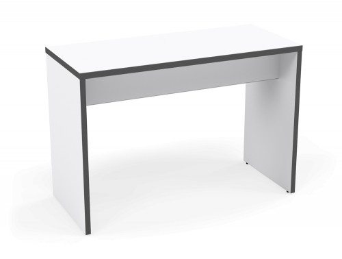 Kito Canteen Bench System High Table WH-GR-1670 White/Graphite in 1600 x 700mm