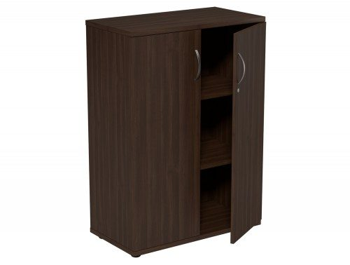 Kito Closed Storage DW-1130 in Dark Walnut 3-Level