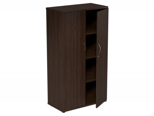 Kito Closed Storage DW-1490 in Dark Walnut 4-Level