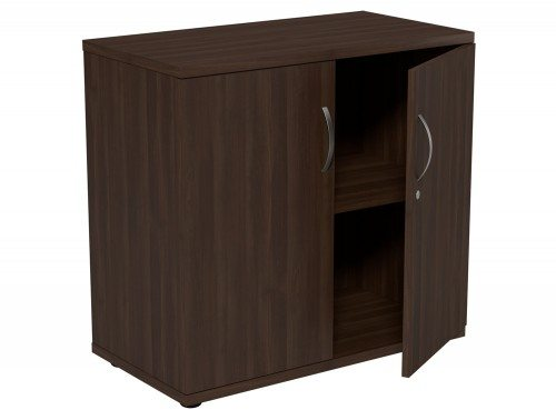 Kito Closed Storage DW-770 in Dark Walnut 2-Level