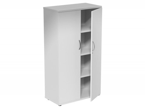 Kito Closed Storage WH-1490 in White 4-Level