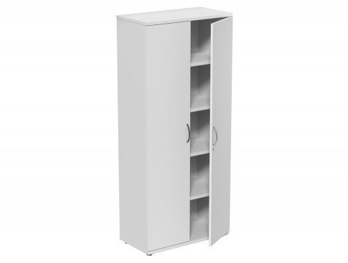 Kito Closed Storage WH-1850 in White 5-Level