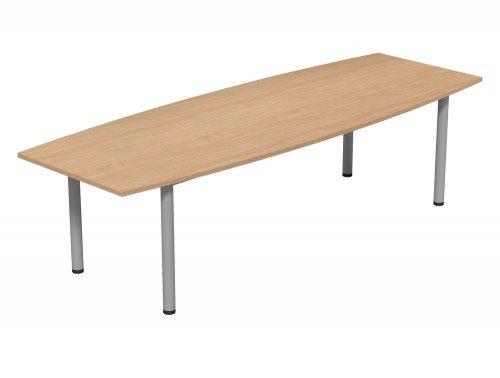 Kito Meeting Barrel Meeting Table Double Tubular Leg Base Be Slv 2710