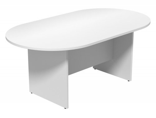 Kito Meeting Oval Meeting Table Panel Leg Base Single Piece Size 1800 Mm X 1000 Mm 2400 Mm X 1200 Mm Wh 1810