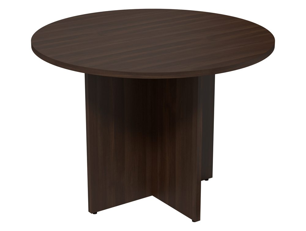 Kito Meeting Round Meeting Table Panel Leg Base Dw 1000