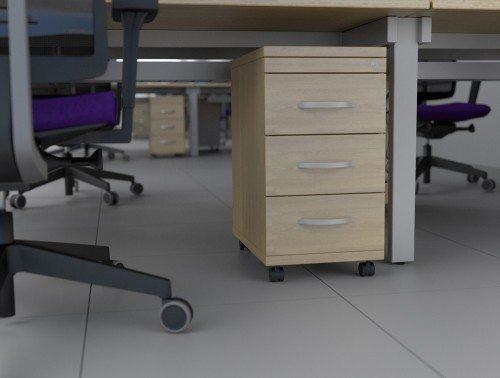 Kito Mobile Under-desk Pedesal 3 Drawer