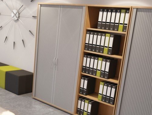 Kito Office Storage Tambour Units