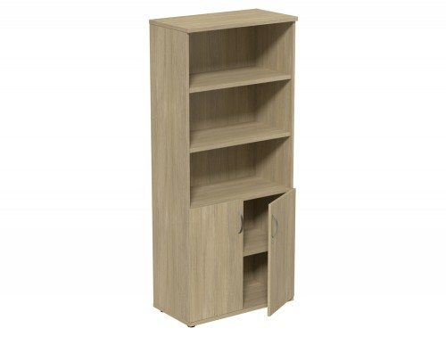 Kito Part Closed Storage UO-1850 in Urban Oak 5-Level