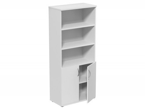 Kito Part Closed Storage WH-1850 in White 5-Level