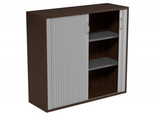 Kito Tambour Unit 1130-SLV-DW in Dark Walnut 3-Level