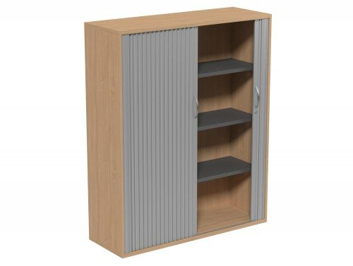 Kito Tambour Unit 1490-SLV-BE in Beech 4-Level
