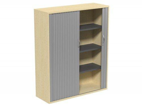 Kito Tambour Unit 1490-SLV-MP in Maple 4-Level