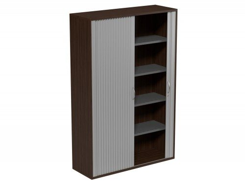Kito Tambour Unit 1850-SLV-DW in Dark Walnut 5-Level