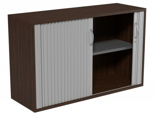 Kito Tambour Unit 770-SLV-DW in Dark Walnut 2-Level
